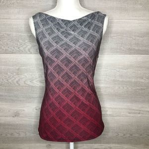 The Limited Top Pink, Black, White Size Small
